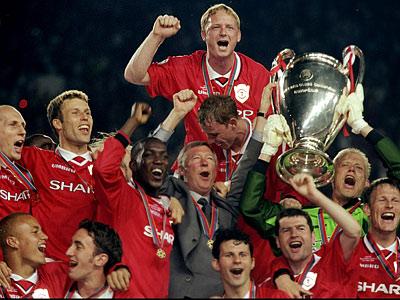 Манчестер юнайтед2 1 бовария 1999